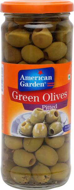 American Garden Pitted Green Olives