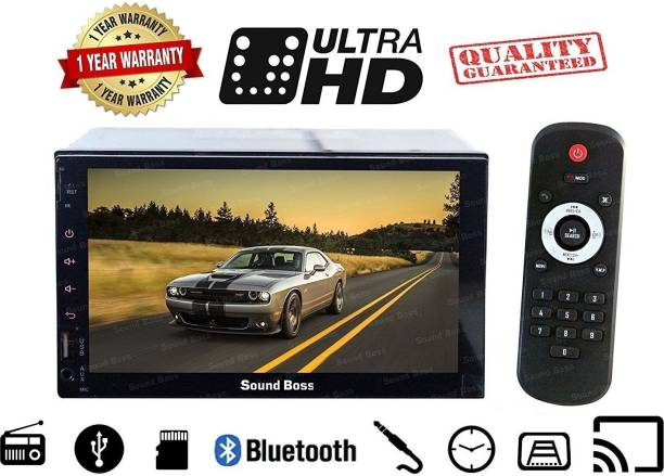 Sound Boss SB-9318 7inch HD bluetooth MP5 player TFT Fully touch screen FM RDS Radio car video USB TF Aux Input Color screen Car Stereo