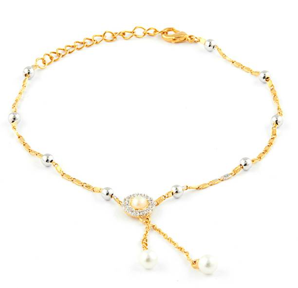 90a0e8eb0 Pearl Anklets - Buy Pearl Anklets Online at Best Prices In India ...