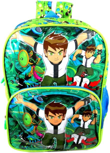 ehuntz Ben10 school Bag (Pre Nursery & Nursery) (EH1095) Waterproof School Bag
