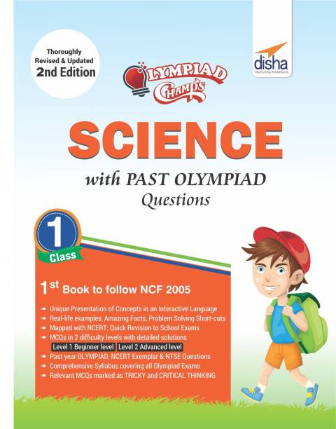 Olympiad Champs Science Class 1 with Past Olympiad Questions Second Edition