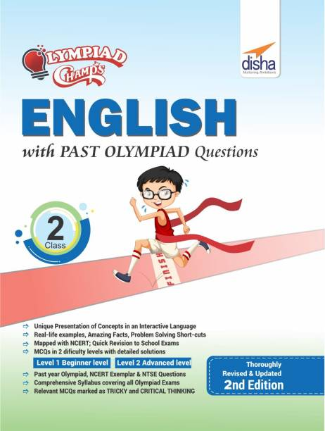 Olympiad Champs English Class 2 with Past Olympiad Questions Second Edition