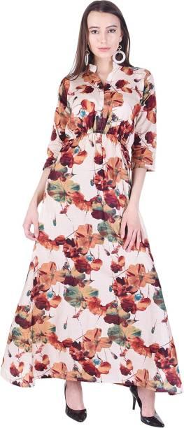 a98ec33dd7 Floral Dresses - Buy Floral Print Dresses Online at Best Prices In ...