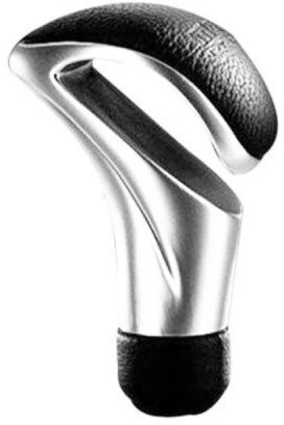 Allure Auto Stainless Steel, Leather Gear Knob