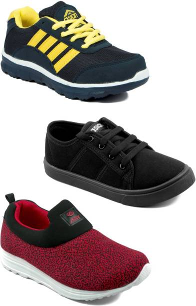 199626218 Asian Boys Lace Running Shoes