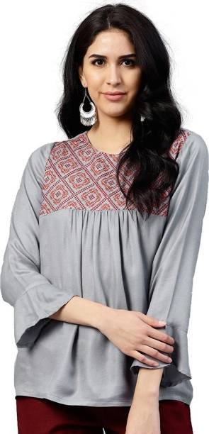 1afaff337e Jaipur Kurti Tops - Buy Jaipur Kurti Tops Online at Best Prices In ...