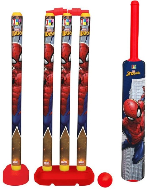 "Marvel Original Avengers Assemble New Softball Sport Bat and Ball 13/"""