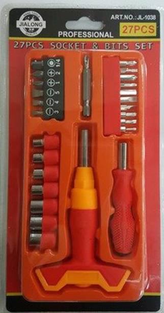 CONTINENTAL 27PCS Screwdriver Combination Tool JL-1038 Vehicle Tool Kit