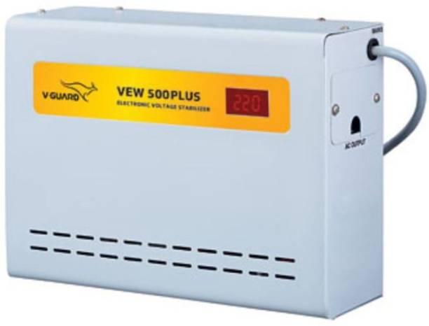 V-Guard VEW 500 Plus For Ac upto 2 Ton (90V-300V) Voltage Stabilizer