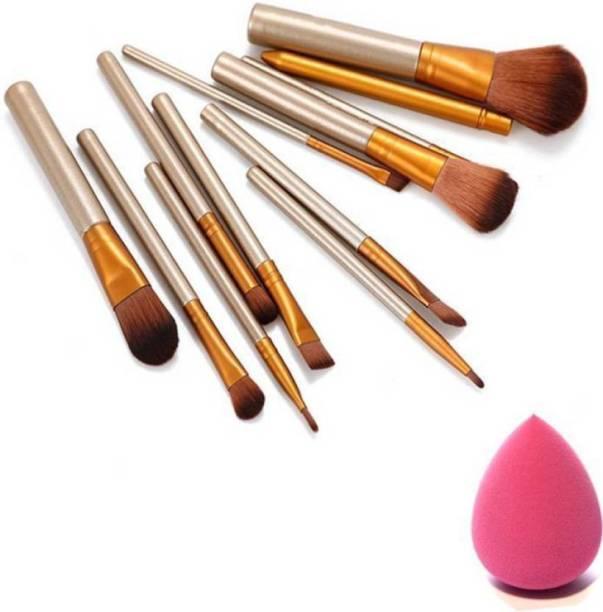 Garry's Makeup Brush set with blender