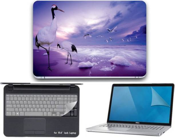 GALLERY 83 ® nature wallpaper 3 in 1 combo pack with laptop skin sticker decal, key guard, Screen protector all are laptop 15.6 inch Combo Set 3304 vinyl Laptop Decal 15.6 Combo Set