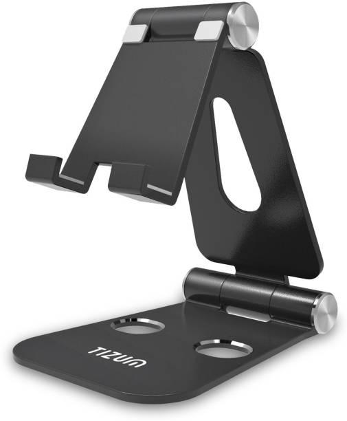 Tizum Aluminum Portable Stand for All Smartphones Mobile Holder