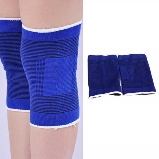 6361a006df QUINERGYS New Knee Brace Bandage Wrap Stabilizer Guard Compression Knee Sports  Supports Knee Support (Free
