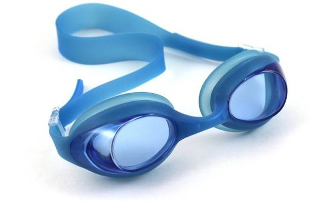 fd5d36780b55 QUINERGYS ® Ultra Blue - Adjustable Sports Swimming Adult Goggles Anti Fog  UV Lens + Ear