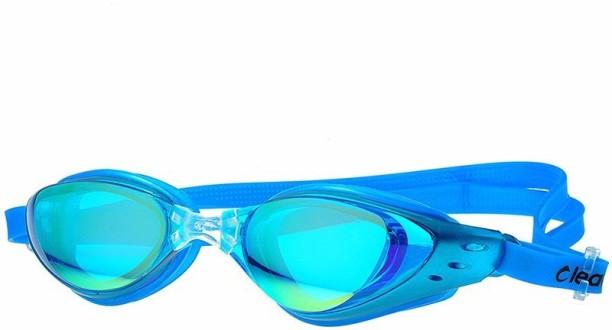 Aqua Sport Plus Swim Goggles Black 12 Brand New Boys Girls Antifog Flex Frame