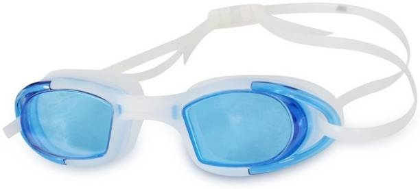 37559996fda7 QUINERGYS ™ Electric blue - Water World Antifog Swimming Goggles Swimming  Goggles