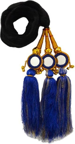 Rapidsflow™ Punjabi Paranda / Wedding style Hair Parandi Accessories For Women And Girls Braid Extension