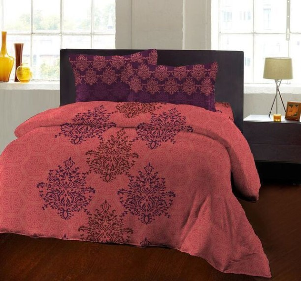 Bombay Dyeing 104 TC Cotton Double Printed Bedsheet