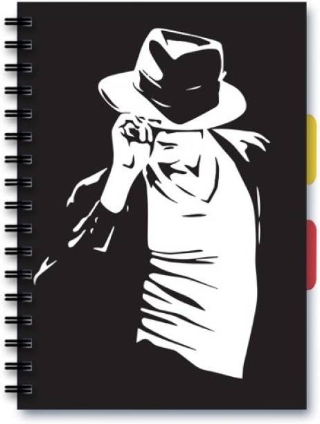 Posterskart Michael Jackson Notebook A5 Ruled A5 Notebook 80 Gsm Ruled 200 Pages