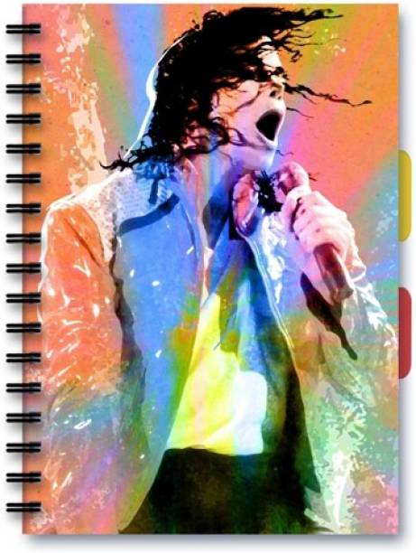 Posterskart Michael Jackson Art Notebook A5 Ruled A5 Notebook 80 Gsm Ruled 200 Pages
