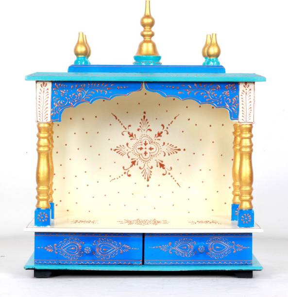 HOME AND BAZAAR HB17KI-118 Solid Wood Home Temple