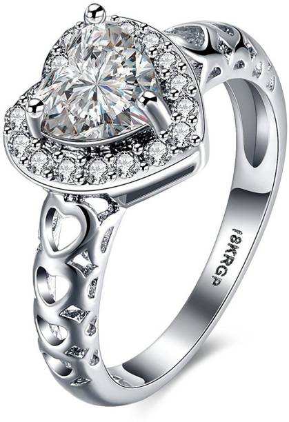 1dfeefb3485f Engagement Rings - Buy Engagement Rings online at Best Prices in ...