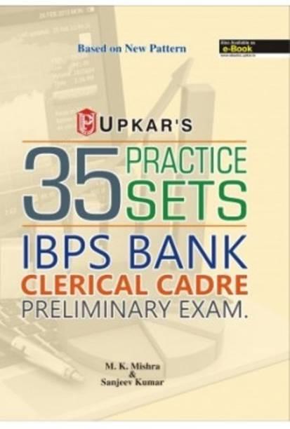 UPKAR PRAKASHAN 35 PRACTICE SETS IBPS BANK CLERICAL CADRE PRELIMINARY EXAM.