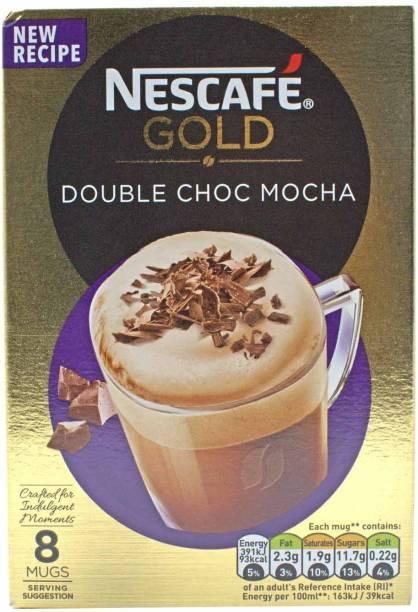Nescafe Gold Double Choc Mocha, 8 Mugs - 184g (8x22g) Instant Coffee