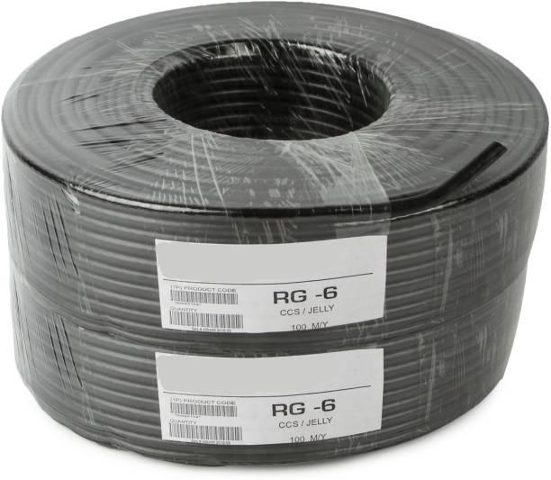 Oxcord PVC Black 180 m Wire
