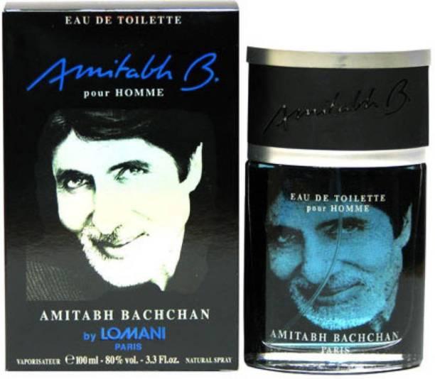 LOMANI AMITABH BACHCHAN BLACK Eau de Toilette  -  100 ml