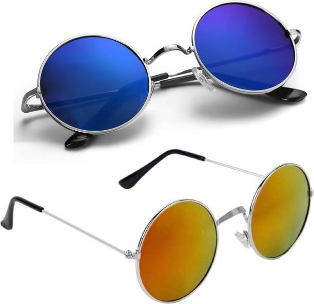 6c13d11585 Round Sunglasses - Buy Round Sunglasses for Men   Women Online at ...