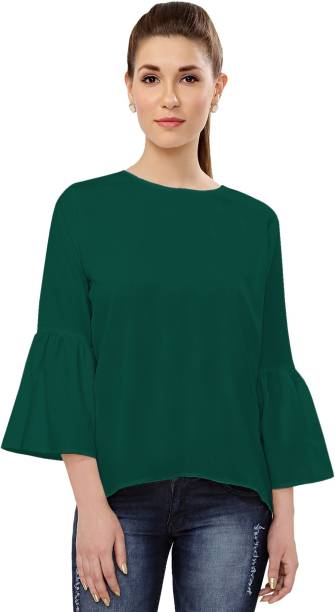 b0764539396d36 Green Tops - Buy Green Tops Online at Best Prices In India ...
