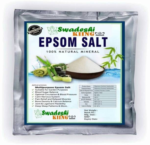 Swadeshi KIING EPSOM SALT, MAGNESIUM SULPHATE 5KG