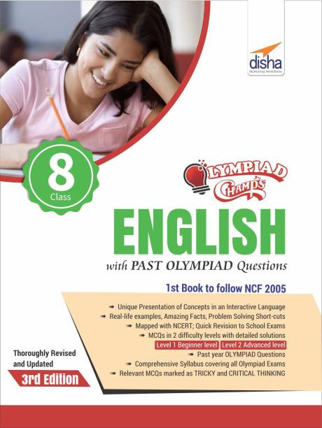 Olympiad Champs English Class 8 with Past Olympiad Questions 3rd Edition