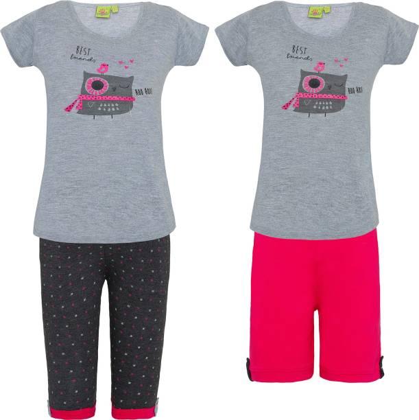 Top Capri Shorts Set Night Dresses Nighties - Buy Top Capri Shorts ... 91488d35e