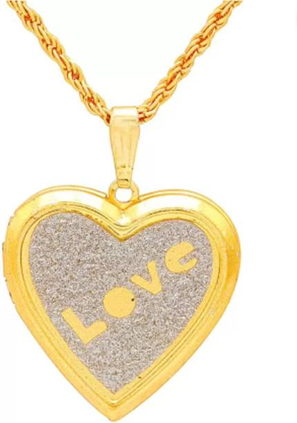 Gold pendant gold pendant set designs online at best prices in aditya traders heart shaped forever yours photo insertable locket 24k yellow gold alloy pendant yellow gold mozeypictures Choice Image