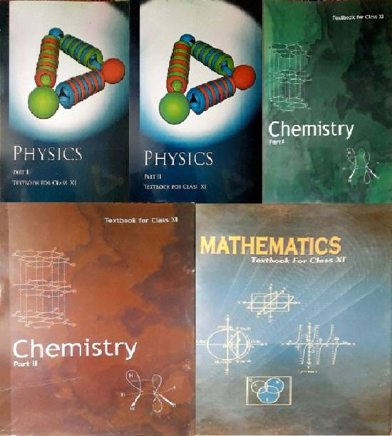 Physics Textbook Part - 1 And 2 , Chemistry Textbook Part - 1 And 2 , Mathematics Textbook For Class - 11