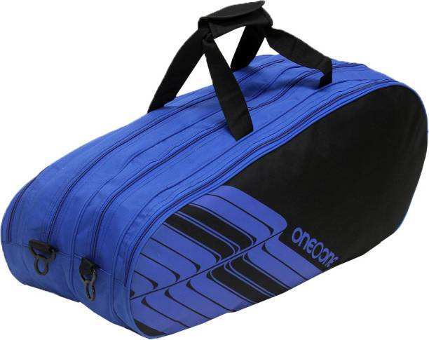 One O One Lines Collection Four Compartment Black & Blue -