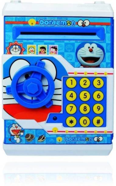 Prro Kids Savings Atm Bank With Electronic Lock Coin Jhpb 08 Color May Vary