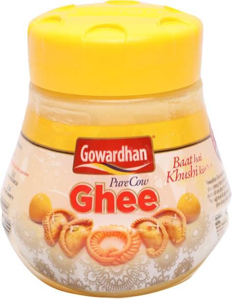 Gowardhan Pure Cow Ghee 500 ml Plastic Bottle