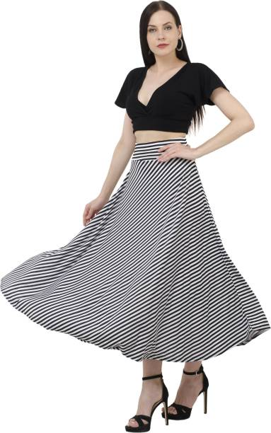 f7d9a5a93bddb8 White Skirts - Buy White Skirts Online at Best Prices In India ...