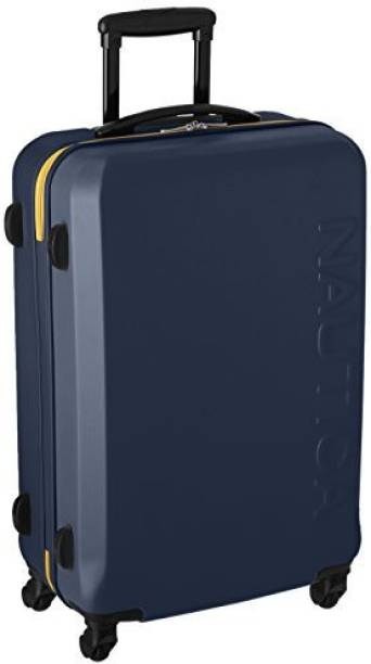 Nautica Solid Hard Body Expandable Check In Luggage 30 Inch