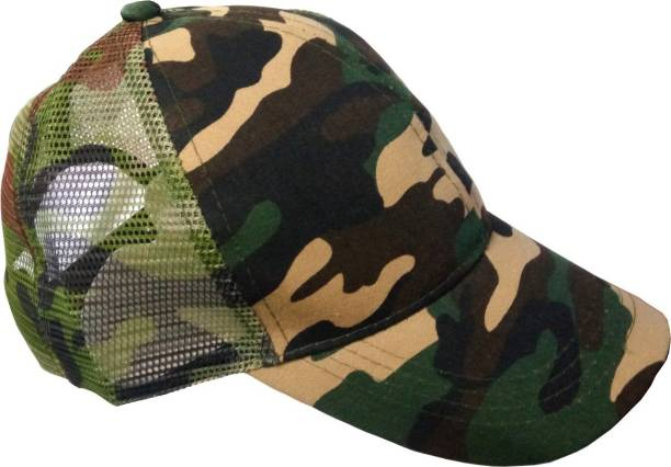 0bba11d3882 Freshook Solid Men s Camouflage Baseball Cap