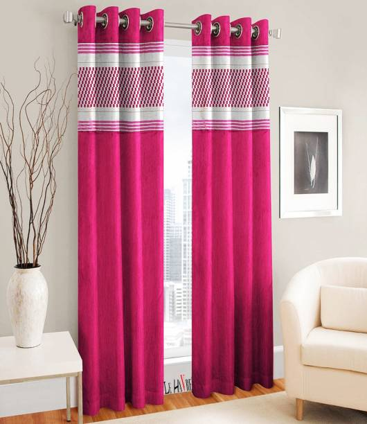 Le Havre 152 4 Cm 5 Ft Polyester Window Curtain Pack Of 2