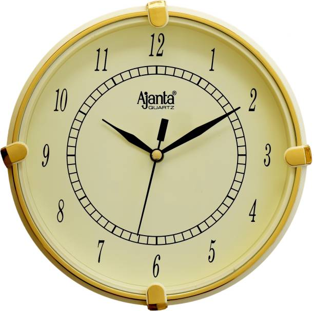 AJANTA Analog 19 cm X 19 cm Wall Clock