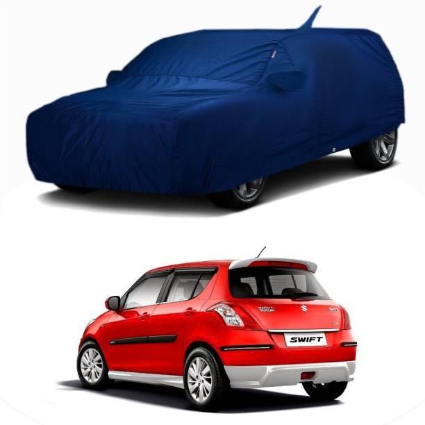 RideoFrenzy Car Cover For Maruti Suzuki Swift (With Mirror Pockets)
