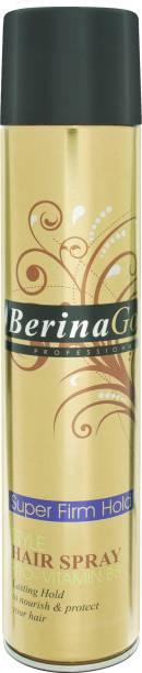 Berina Hair Spray- super firm hold Hair Spray