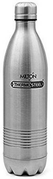 MILTON ThermoSteel Duo Deluxe Hot & Cold 24HRS Silver 750 ML 700 ml Flask