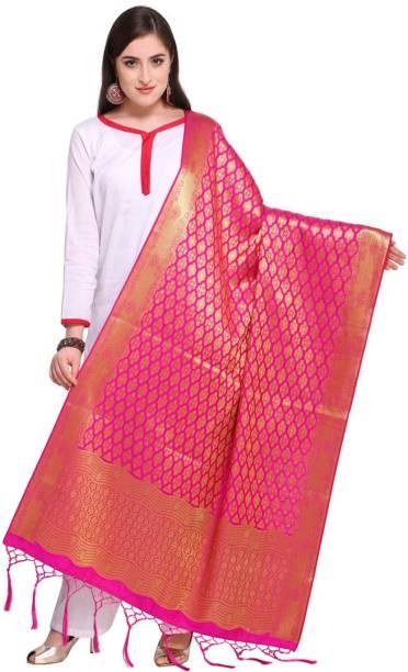 Saara Art Silk Woven Women Dupatta