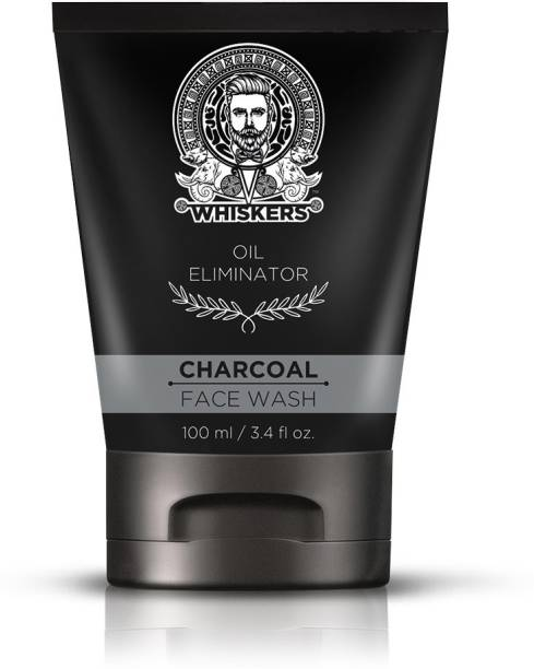 WHISKERS Charcoal  Face Wash